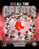 Boston Red Sox All Time Greats Composite