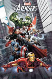 Avengers Assemble Comics Poster