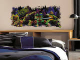Teenage Mutant Ninja Turtle Trouble Graphix Peel & Stick Wall Decals
