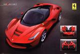Ferrari Laferrari Car Poster Poster