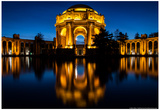 Palace of Fine Arts Reflected Photo Poster