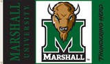 NCAA Marshall Thundering Herd Flag with Grommets