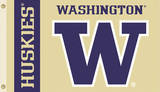 NCAA Washington Huskies Flag with Grommets