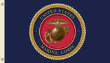 U.S. Marine Corps Flag with Grommets