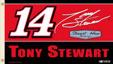 Nascar Tony Stewart #14 Flag with Grommets
