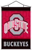 NCAA Ohio State Buckeyes Indoor Banner Scroll
