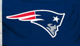 NFL New England Patriots Flag with Grommets Super Bowl LI - MVP New England Patriots - R Gronkowski 14 NFL: New England Patriots- Helmet Logo New England Patriots- T Brady 16 Super Bowl LI - Champions