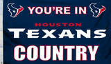 NFL Houston Texans Flag with Grommets