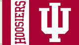 NCAA Indiana Hoosiers Flag with Grommets