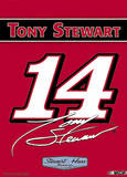 Nascar Tony Stewart #14 2-Sided Garden Flag