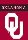 NCAA Oklahoma Sooners 2-Sided Garden Flag
