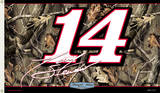 Nascar Tony Stewart #14 - Realtree 2-Sided Flag with Grommets
