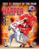 Bryce Harper 2012 National League Rookie of the year Composite