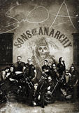 Sons of Anarchy Vintage Huge TV Poster Giant Poster