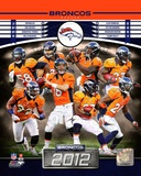 Denver Broncos 2012 Team Composite