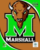 Marshall University Thundering Herd Team Logo