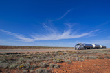 Truck Riding Through the Outback of South Australia, Australia, Pacific
