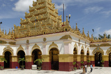 The Mahamuni Buddha Temple, Mandalay City, Republic of the Union of Myanmar (Burma)