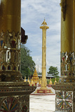 The Bawgyo Pagoda in Thibaw (Hsipaw), Shan State, Republic of the Union of Myanmar (Burma), Asia