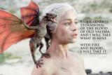 Game of Thrones - Daenerys Targaryen TV Poster Poster