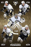 Pittsburgh Penguins Group Hockey Poster