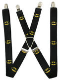 DC Comics - Batman Shield Black/Yellow Suspenders