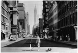 Lexington Ave NYC 1957 Archival Photo Poster