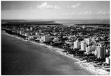 Miami Beach Florida 1948 Archival Photo Poster