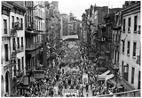 New York Chinatown 1941 Archival Photo Poster
