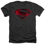 Man of Steel - Red And Black Glyph