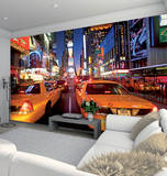 New York Times Square Wallpaper Mural Wallpaper Mural