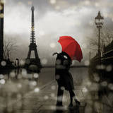 Paris Romance Art Print