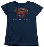 Womans: Man of Steel - MoS New Logo