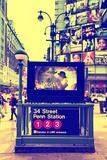 Subway Stations - Manhattan - New York City - United States