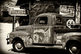 Truck - Route 66 - Gas Station - Arizona - United States Photographic Print