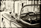 Cars - Chevrolet - Route 66 - Gas Station - Arizona - United States Photographic Print