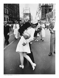 V-J Day in Times Square Art Print