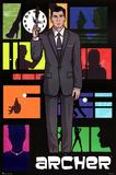 Archer Pop Art TV Poster