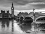 The House of Parliament and Westminster Bridge Art Print