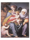 The Virgin And Child With Saint Elizabeth And John The Baptist