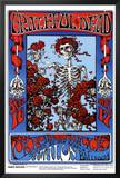 Family Dog - Grateful Dead - Skeleton & Roses
