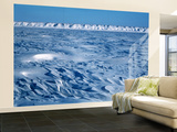 Wind Blown Snowdrift, Arctic Coastal Plain, Alaska, USA Wall Mural – Large