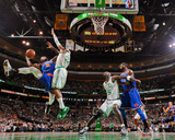 Boston, MA - January 24: J.R. Smith and Paul Pierce