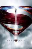 Man Of Steel (Glyph) Poster