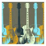 Guitars 5 Art Print
