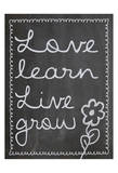 Love Learn Live Grow 2