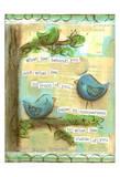Birds Blue 2