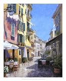 Buy Sunny Street in Portofino at AllPosters.com