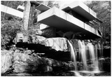 Frank Lloyd Wright Falling Waters Archival Photo Poster