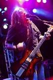 Shaun Morgan Welgemoed of the Rock Group Seether Entertains Marines in 2010